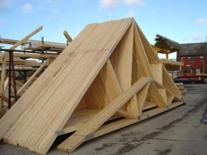 Prefab overkapping prijzen for Prefabricated wood trusses
